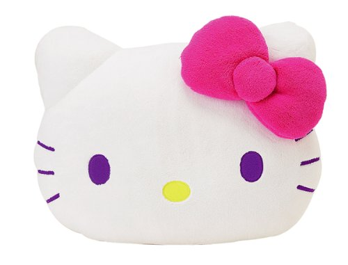 Hello Kitty Face Cushion Pillow