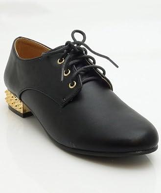 Qupid Women Ossie-01X Flats-Shoes,Black,8.5