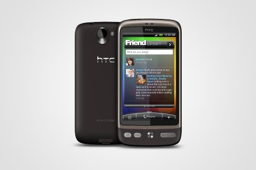 HTC A8181 Desire Unlocked Quad-Band GSM Phone with Android OS, HTC Sense UI, 5 MP Camera, Wi-Fi and gps navigation–International Version with Warranty (Brown)
