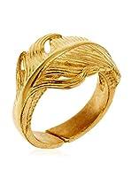 Córdoba Joyeros Anillo (plata de ley 925 milésimas bañada en oro)