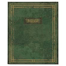 Blueline Heritage Journal, College Ruled, Green, 9.25 x 7.25 Inches, 192 Pages (A6013)
