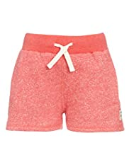 Pure Cotton Contrast Drawstring Sweat Shorts