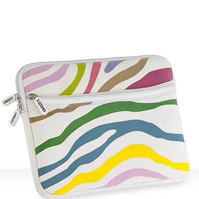APPLE IPAD Tablet 16GB 32GB 64GB Wi-Fi WiFi Netbook PC ZEBRA Multicolored NEOPRENE SLEEVE CASE Cover Pouch Carrying Bag
