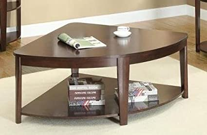 Coffee Table with Shelf by Poundex