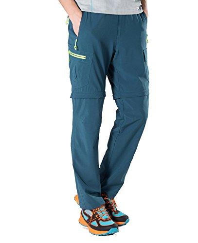 Makino Men's Convertible Quick Dry Hiking Pants M131611002 X-S (Travel Rain Pants compare prices)