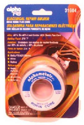 Alpha Metals AM31605 3-oz., .032-Diameter Leaded Electrical Solder