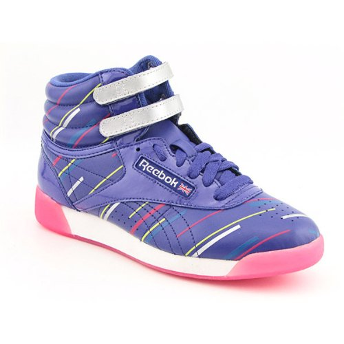 REEBOK F/S Hi Laser Beam Sneakers Shoes Purple Women SZ