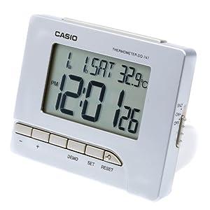 Despertador Casio Dq-747-8df Alarma-Repeticion de Casio