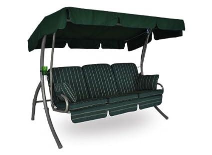 Balancelle Comfort (3 places) Design Faro vert