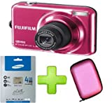 Fujifilm FinePix L55 + 4gb Memory + Case(12MP, 3x Optical Zoom) 2.4 inch LCD Screen Picture