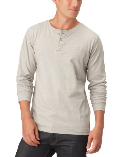 Quiksilver Molta-KPMJE163 Logo Men's T-Shirt Stone Small