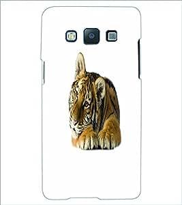 PRINTSWAG CUTE TIGER Designer Back Cover Case for SAMSNUG GALAXY E5