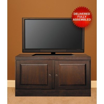 Cheap 48″ TV Stand with Transitional Handles in Mocha Doors: Natural Twig Inserts (60148TN0)