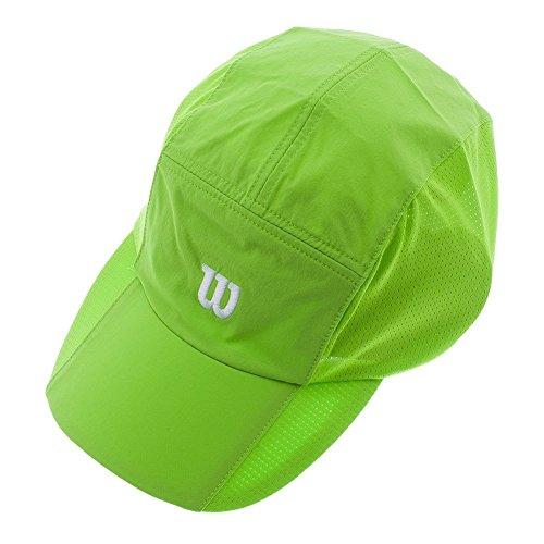 WILSON Rush Stretch Woven Tennis Cap, Granny Green (Hat Granny)