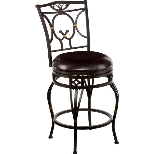 Wayfield swivel counter stool Home bar furniture amazon
