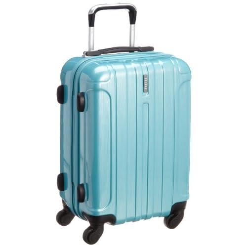 [ピジョール] PUJOLS ピジョール アイアンIII スーツケース 48cm・32リットル・2.7kg 05721 15 (ターコイズ)