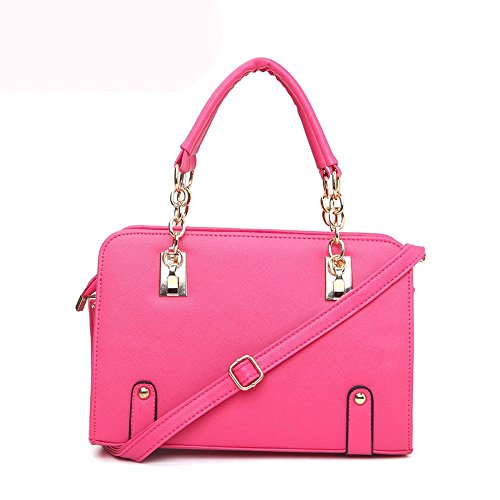 koson-man-con-struttura-in-pelle-da-donna-con-tracolla-maniglia-superiore-borsa-tote-bags-rosa-rosa-