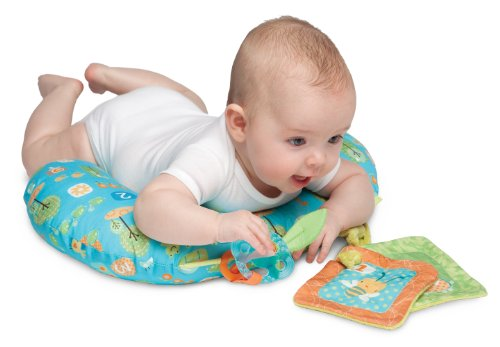 Boppy Tummy Time Pillow, Honeybee 123 (Discontinued by Manufacturer) - 1