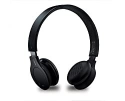 Rapoo H8060 2.4g Wireless Stereo Headset Headphone Touch Volumn Control -W/micro (Black)