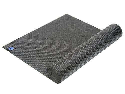 youphoria-yoga-1-4-inch-eco-friendly-memory-foam-yoga-mat-with-strap-black