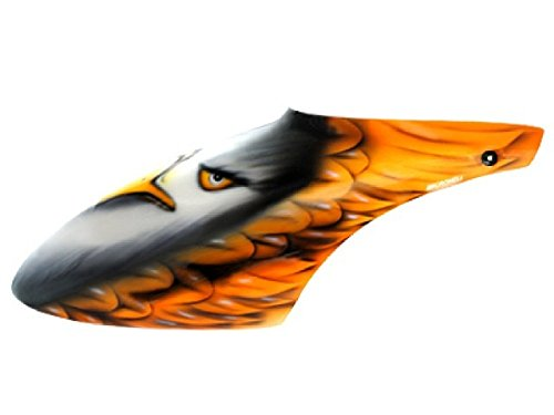 Microheli Airbrush Fiberglass Eagle Canopy - BLADE 500X/3D (Blade 500x Helicopter compare prices)