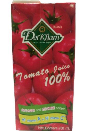 Dio Kham Tomato Juice 100% Natural, 26.4 Oz.