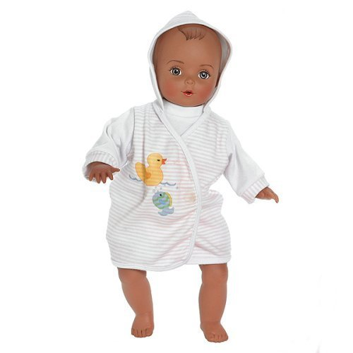 Madame Alexander Bath Time Baby, African American, 12 Inch front-409669