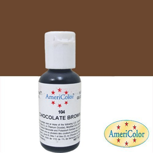 AmeriColor Soft Gel Paste Food Coloring Chocolate Brown - Frank W ...