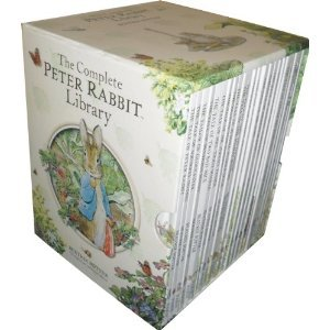 The Complete Peter Rabbit Library 23 Books Boxed Set Collection (Squirrel Nutkin, Tailor Of Gloucester, Benjamin Bunny, Miss Moppet, Pig Robinson, Ginger And Pickles, Samuel Whiskers, Mr Tod, John Town Mouse, Timmy Tiptoes) (Peter Rabbit Library) front-1069589