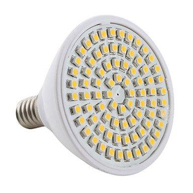 M.M E14 80-3528 Smd 3W 270Lm 3000-3500K Warm White Light Led Spot Bulb (230V)