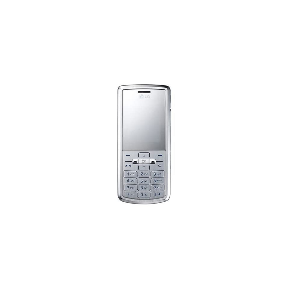 LG KE770 Unlocked Phone with 2 MP Camera, Media Player, Stereo Bluetooth, and MicroSD  International Version No Warranty (Silver)