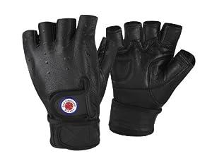Buy GetYourselfFitter Leather Cross training Rowing Weight Lifting Gloves by GetYourselfFitter