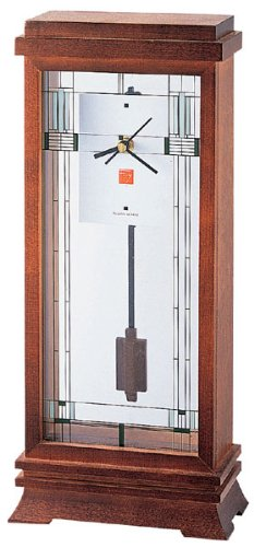 Frank Lloyd Wright Collection - Willits Mantel Clock by Bulova