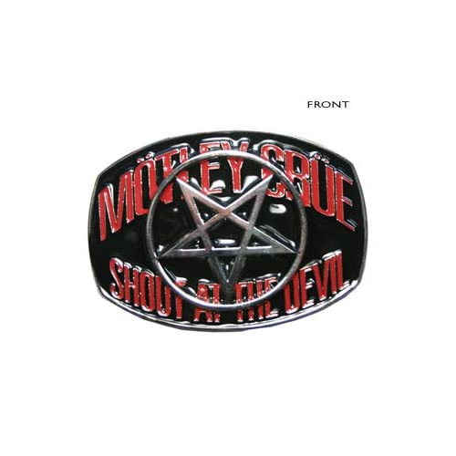At The Devil Belt Buckle: Music Fan Apparel Accessories: Clothing