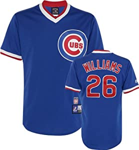 Billy Williams Chicago Cubs Royal Cooperstown Jersey by Majestic by Majestic