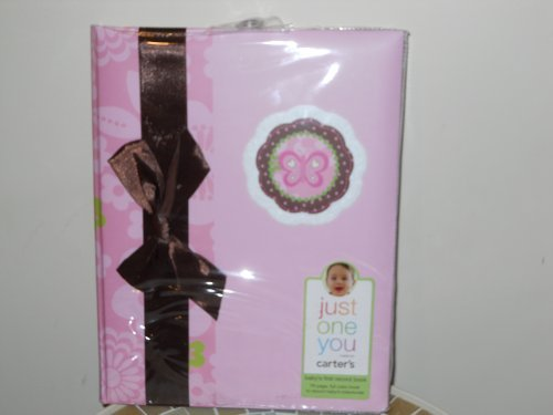 Just One Year Carter's Baby Book - Pink - 1