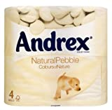 Andrex Toilet Tissue Rolls Natural Pebble (10 x 4 pack)