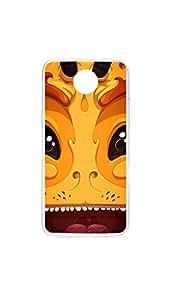 Yellow Dragon Face Designer Mobile Case/Cover For Nexus 6