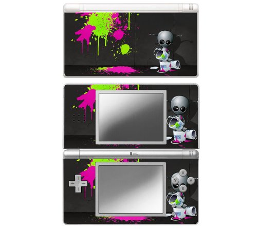 Baby Robot Decorative Protector Skin Decal Sticker for Nintendo DS Lite