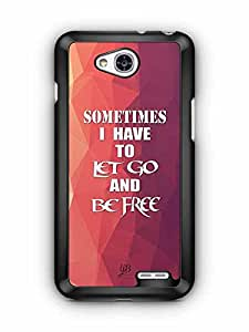YuBingo Sometimes, I Have to Let Go and Be Free Designer Mobile Case Back Cover for LG L90