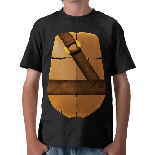 TMNT: Michaelangelo Shell Costume Tee - Youth
