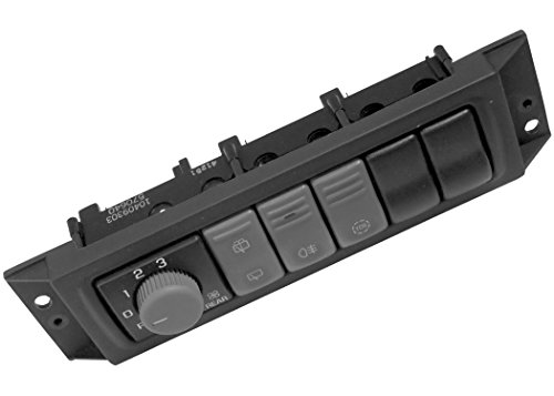 Acdelco 10409303 Gm Original Equipment Rear Window Wiper And Washer Switch Console front-627714