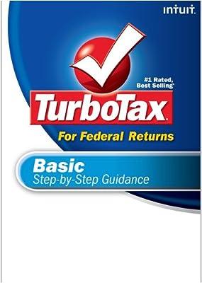 TurboTax Basic Federal + eFile 2008