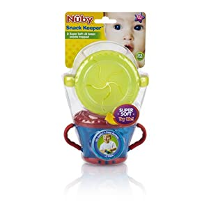Nuby 2 Pack Snack Keeper $9.35