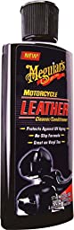 Meguiar\'s MC20306 Motorcycle Leather Cleaner and Conditioner - 6 oz.
