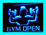 ADV-PRO-i103-b-OPEN-Gym-Gymnasium-Room-Shop-NEW-Neon-Light-Sign