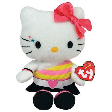 Ty Beanie Baby - Retro Hello Kitty (Uk Exclusive - Hello Kitty) back-918373
