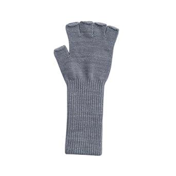 Fingerless Fashion Fashion Gloves in Grey