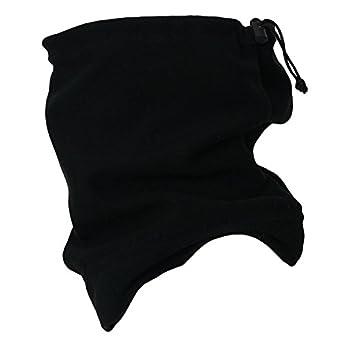 Fleece Snood / Scarf Neck Warmer Black Keep Warm!