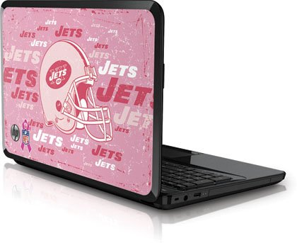 NFL® New York Jets - Breast Cancer Awareness Vinyl Laptop Skin for HP Pavilion G6x at Amazon.com